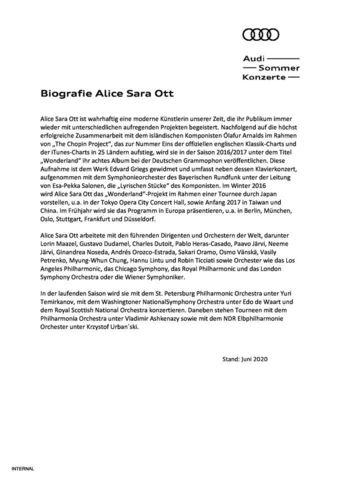 Biografie Alice Sara Ott