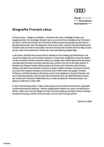 Biografie François Leleux