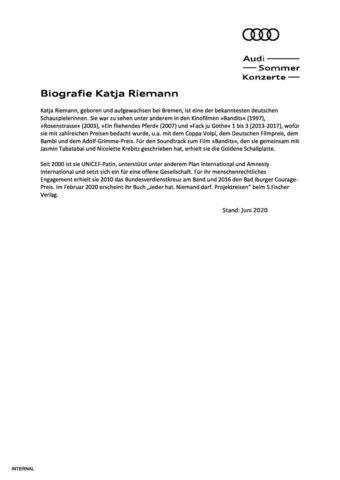 Biografie Katja Riemann