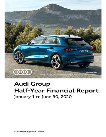 Audi Group Interim Financial Report 2020